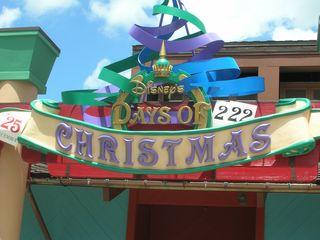 Days of Christmas close-up